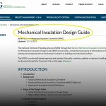 The Mechanical Insulation Design Guide You Didn't Even Know Existed